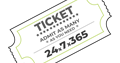 resources ticket stub icon by erin gibbs